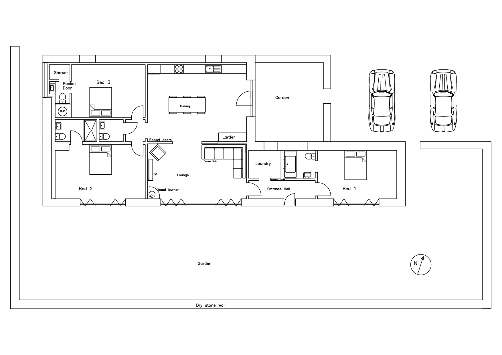 Floorplan For Willow Tree Shippon