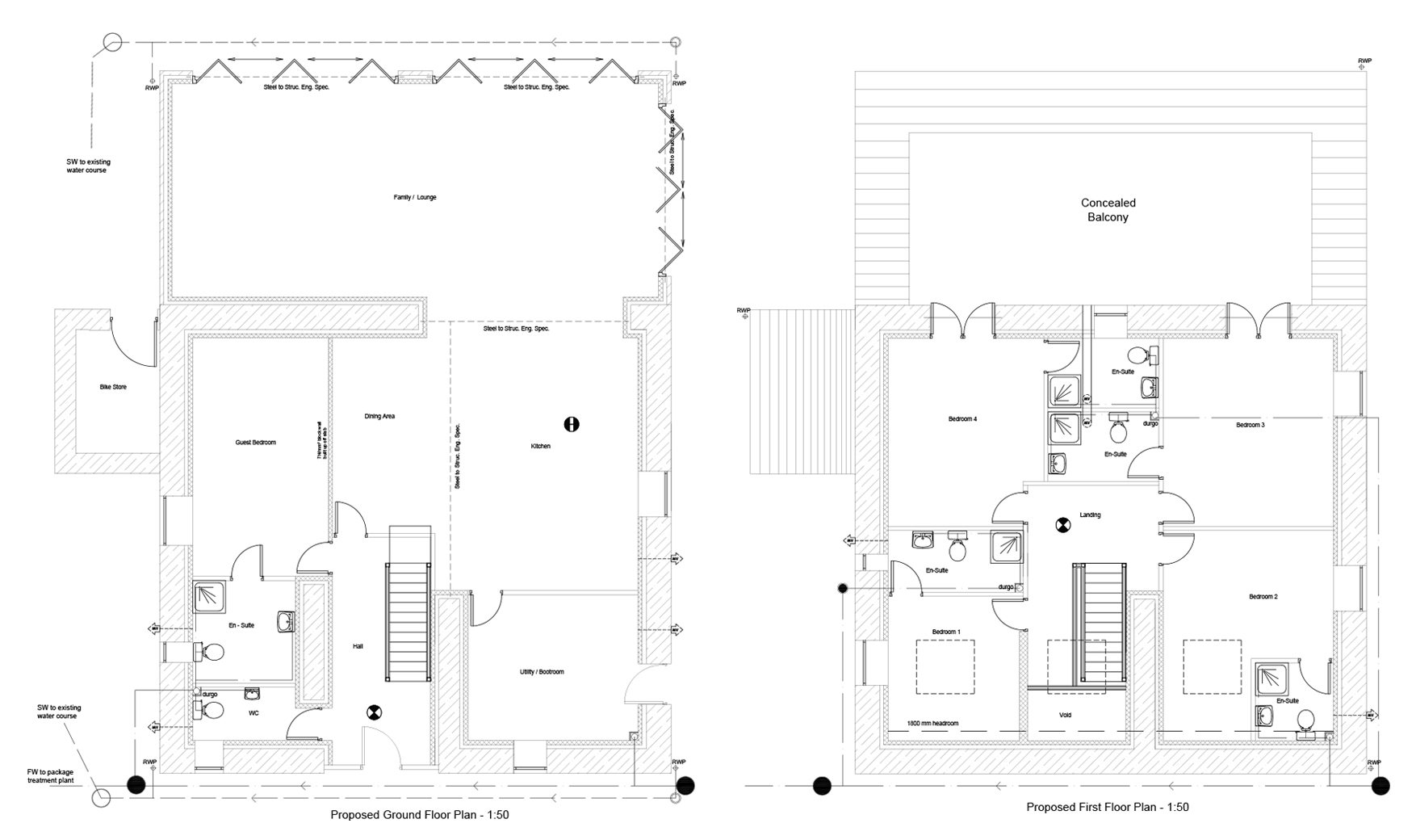 The Barn Floorplan